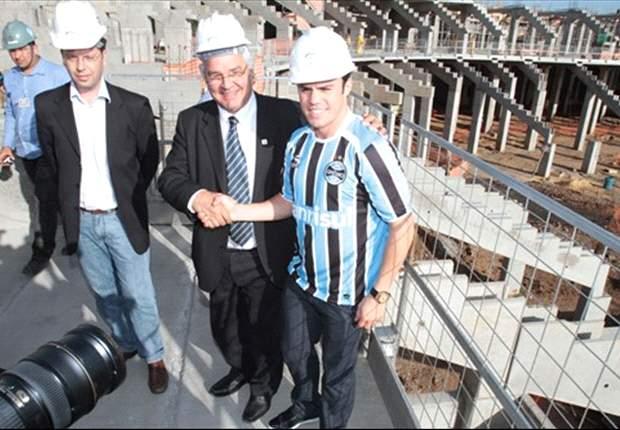 Hamburger SV weiht Stadion in Porto Alegre ein