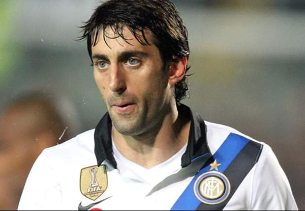 TEAM NEWS: Diego Milito starts alongside Giampaolo Pazzini in Inter's attack against Udinese
