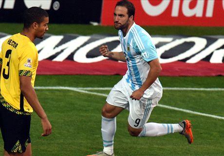 阿根廷1-0擊敗牙買加!首名晉級