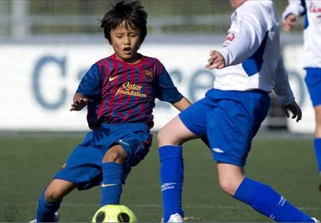 Barcelona pierde al 'Messi japonés'