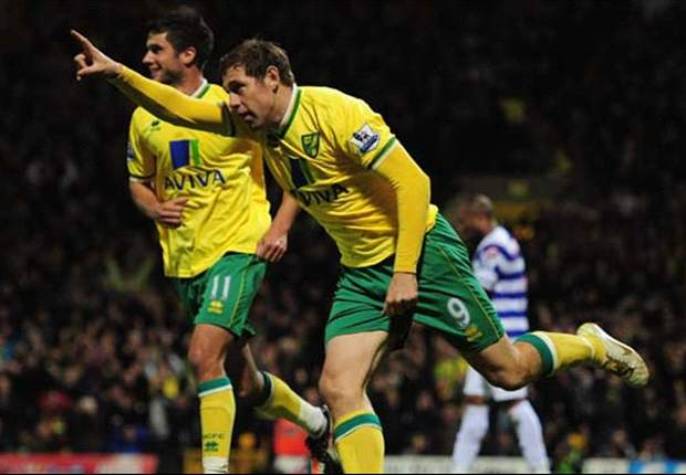 Rangers have bid for Norwich City striker Grant Holt turned down