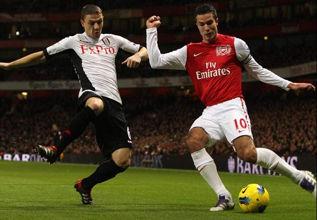 TEAM NEWS: Robin van Persie returns to Arsenal starting XI for Wigan clash as Laurent Koscielny starts at right-back
