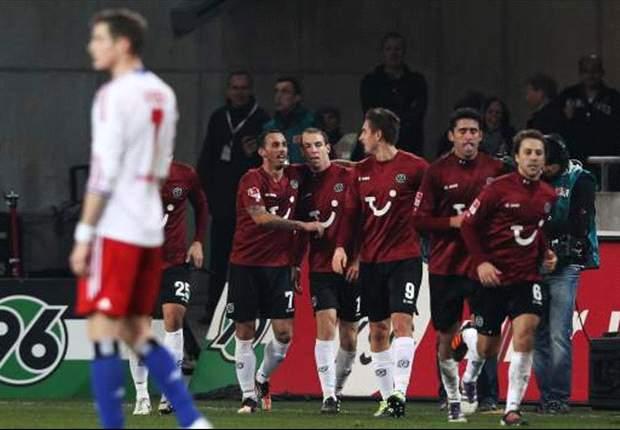 1:1 - Schlaudrauff-Hammer raubt HSV den Derby-Sieg
