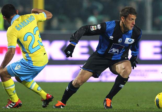 Atalanta 1-1 Napoli: Last-gasp Cavani strike saves Mazzarri's men from defeat