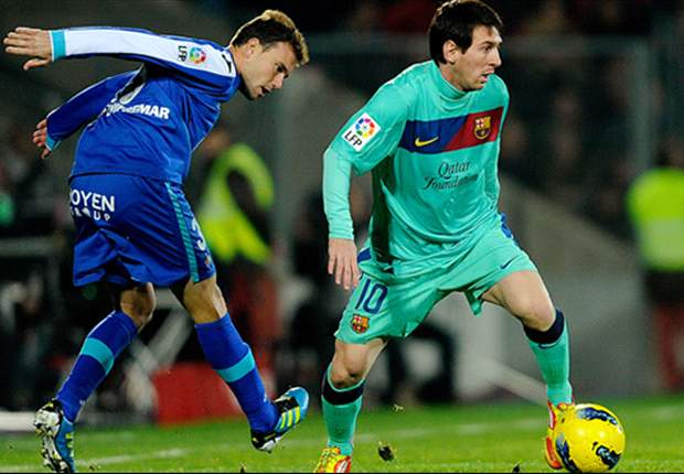 Getafe 1-0 Barcelona: Catalans' title hopes take a blow in Madrid