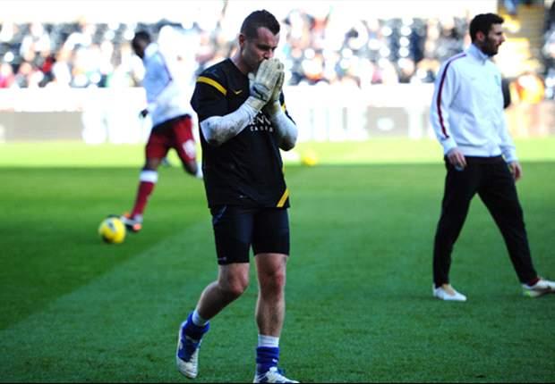 Swansea City 0-0 Aston Villa: Hosts fail to make breakthrough as even encounter ends without a goal