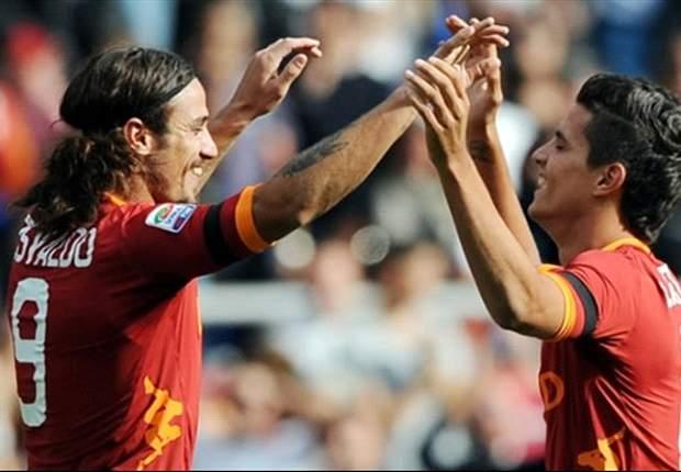 Roma's Erik Lamela insists water is under the bridge with team-mate Pablo Osvaldo