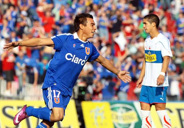 Coveted by Chelsea & idolised in Chile, Eduardo Vargas must now decide if he wants to become a legend at the best team in South America