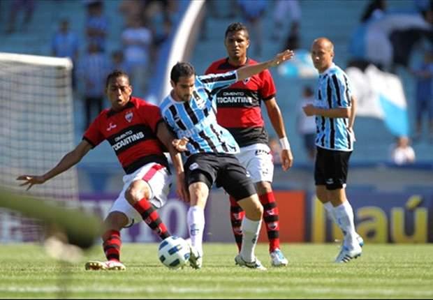 Grêmio empata com o Atlético Goianense em casa