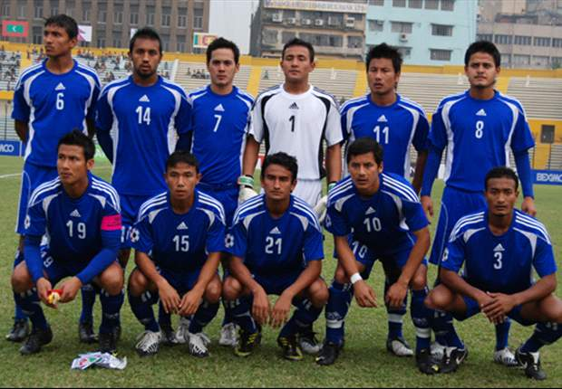 Nepal set out their best to win the SAFF