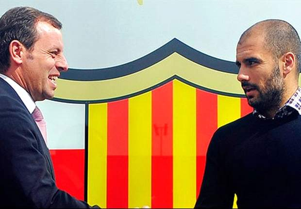 Vilanova will continue Guardiola's legacy, says Rosell