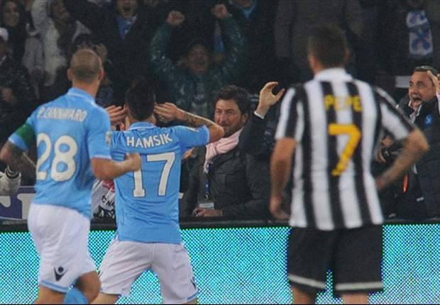 Napoli 3-3 Juventus: Pepe and Estigarribia drag table-toppers back from 3-1 down to clinch point in San Paolo classic