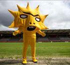 Most terrifying soccer mascot ever?