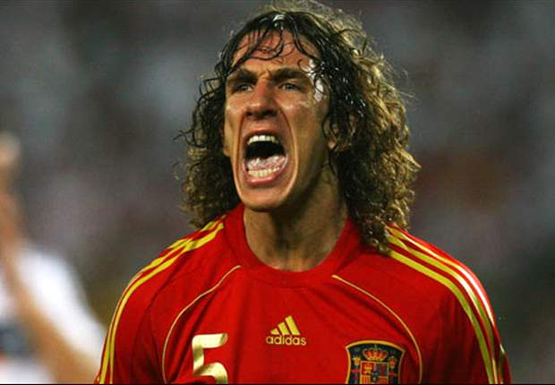 TEAM NEWS: Puyol earns 100th cap for Spain in Uruguay friendly