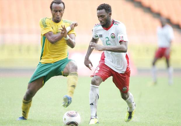 Kenya midfielder Jamal Mohammed during a past regional Cecafa tournament.