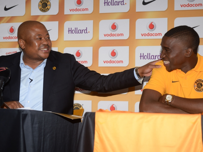 Booth lauds Xulu's decision to choose Kaizer Chiefs over Sundowns