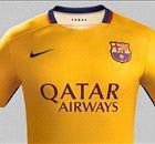 BARCELONA   La equipación suplente para la 2015/2016
