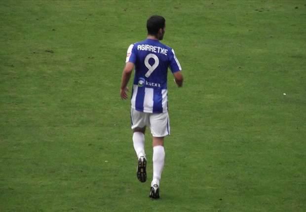 Imanol Agirretxe es baja para el partido ante el Betis