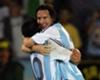 Messi y Riquelme, otra vez juntos