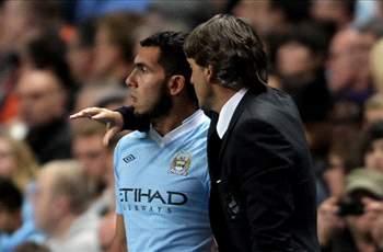 VIDEO: Roberto Mancini Melunak Soal Carlos Tevez