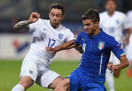 Italy embarrass England but both crash out
