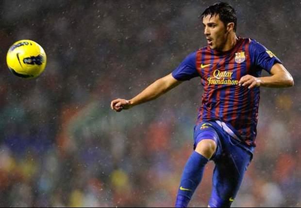 Manchester City Saingi Chelsea Gaet David Villa