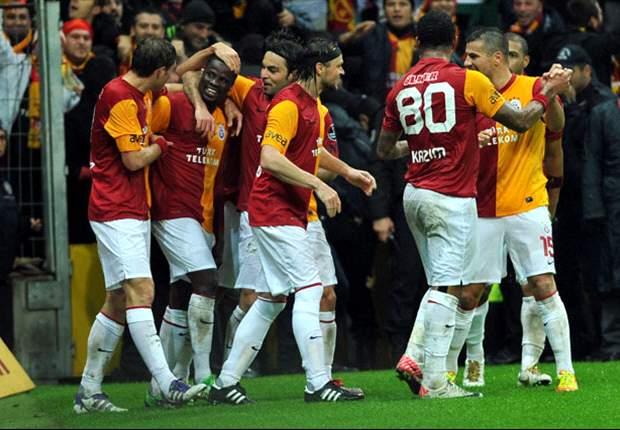Galatasaray veel te sterk voor Fenerbahçe