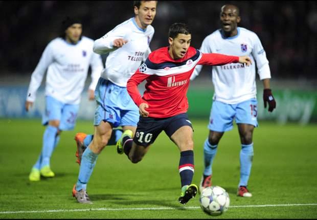 Sir Alex Ferguson impressed with Lille's Eden Hazard