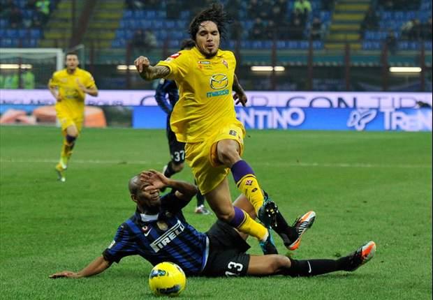 Inter siegt gegen Florenz - Pazzini und Nagatomo treffen