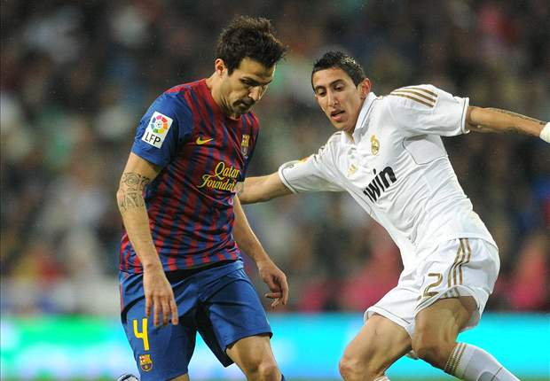 Barcelona's Cesc Fabregas after Clasico victory over Real Madrid: It is a very special day for me