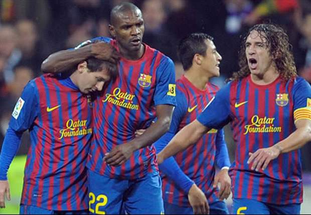 'With him, we are stronger' - Puyol welcomes Abidal's return