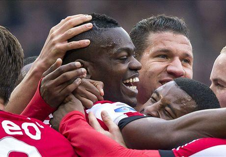 PSV start met Isimat in het centrum