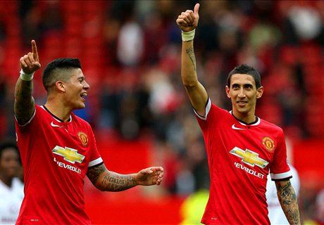 Di Maria is Man Utd's best, says Rojo