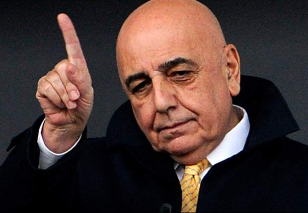 Galliani fumes over 'unacceptable' officiating errors after AC Milan's Catania draw