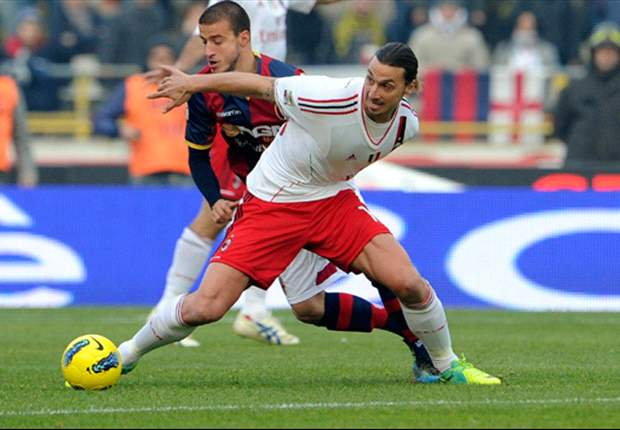 Bologna 2-2 AC Milan: Champions blow chance to go top of Serie A after second half leveller from Diamanti