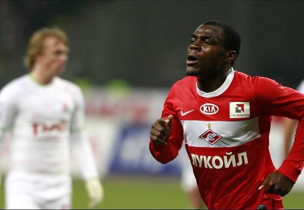 Nigeria international Emmanuel Emenike gets set to achieve 20-goal target for Spartak
