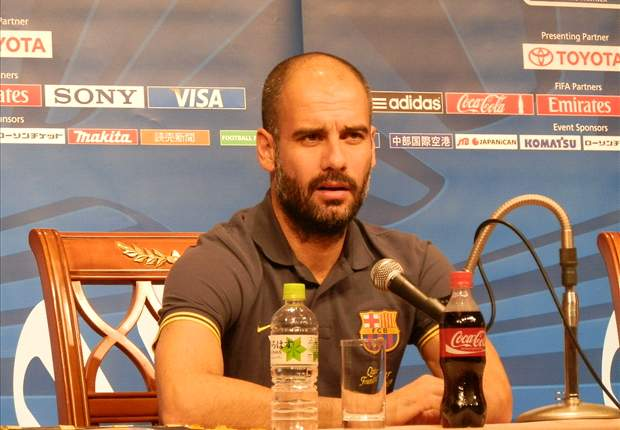 Barcelona's Pep Guardiola: It took hard work to get to the Club World Cup, and now we want to win it
