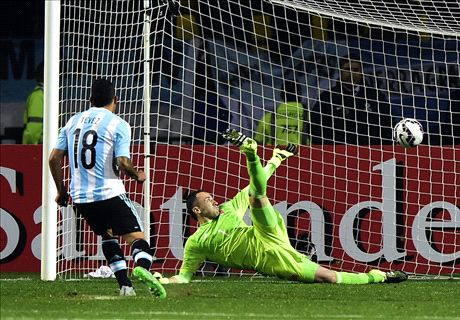 Argentina progress after shoot-out drama