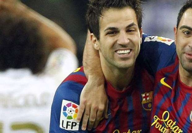 Fabregas cannot imagine Barcelona without Xavi