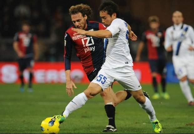 Genoa 0-1 Inter: Solitary Nagatomo strike sends Claudio Ranieri's side up to seventh in Serie A