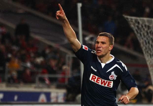 Koln's Lukas Podolski praises Borussia Dortmund's Jurgen Klopp after public row