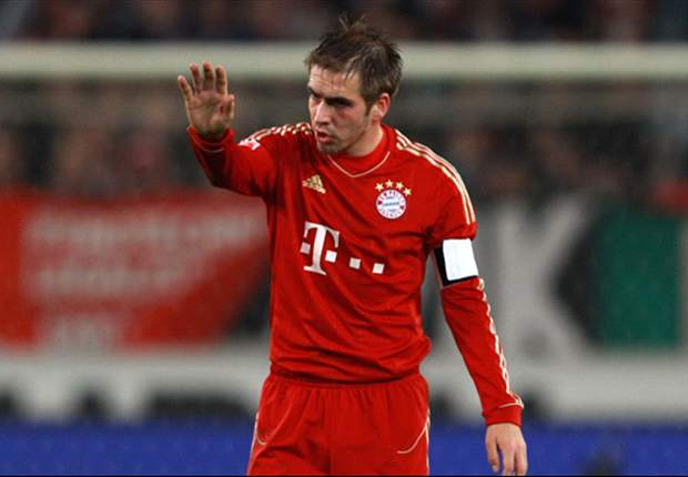 Bayern Munich's Philipp Lahm remains more concerned by Borussia Dortmund than Borussia Monchengladbach