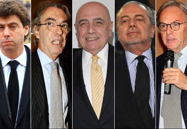 Inter president Massimo Moratti: It was obvious that Calciopoli talks would fail