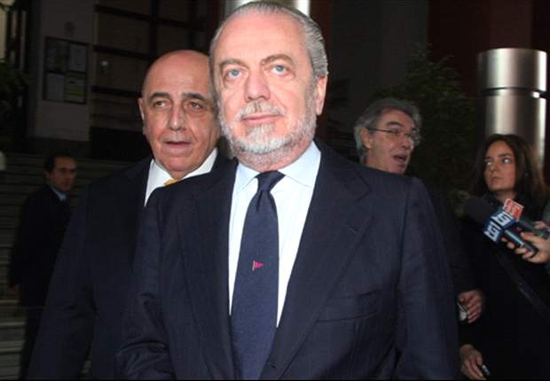 De Laurentiis ready to learn from Chelsea defeat and lead Napoli on to the next step, with or without Lavezzi