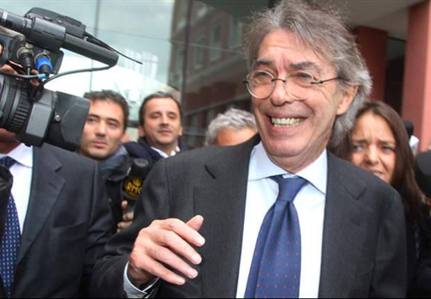 Moratti: We have to build a new Inter without thinking about immediate results