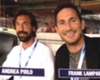 Lampard 'lucky' to play alongside Pirlo