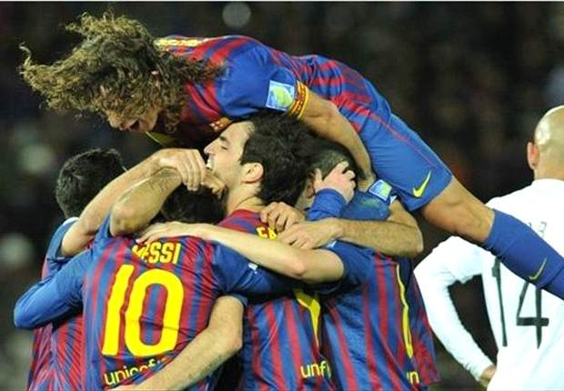 Goal.com's Team of the Club World Cup: Messi, Xavi and Iniesta seize majority for world champions Barcelona