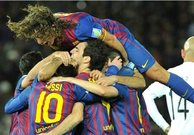 Barcelona's Carles Puyol dedicates Club World Cup win to David Villa & Ibrahim Afellay