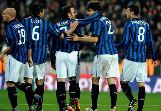 Cesena 0-1 Inter: Ranocchia header secures third Serie A win in a row for Claudio Ranieri's men