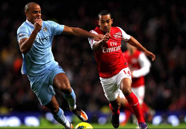 Resilient Manchester City overcome improving Arsenal but tight clash shows both sides approach 2012 on the up